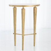 Studio-A by Global Views Jasper Accent Table-Brass