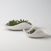 Studio-A by Global Views Marble Dove Bowl-Lg