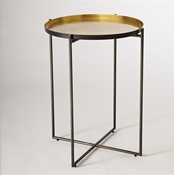 Studio A By Global Views Mistborn Side Table