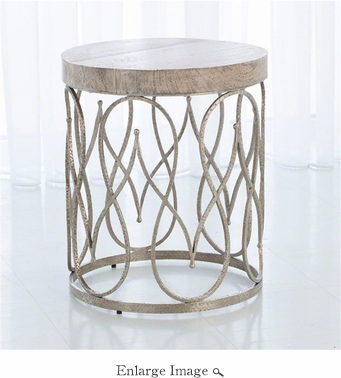 Studio A By Global Views Moroccan Side Table - Moroccan outdoor coffee table