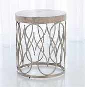 Studio A by Global Views Moroccan Side Table