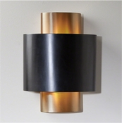 Studio-A by Global Views Nordic Gold Wall Sconce-Hardwired