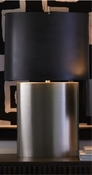 Studio-A by Global Views Nordic Table Lamp-Antique Nickel-Large