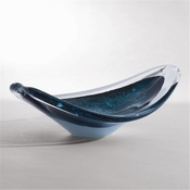 Studio-A by Global Views Orion Bowl-Anthracite
