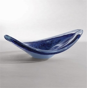 Studio-A by Global Views Orion Bowl-Bluette