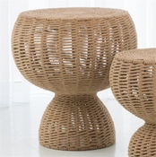Studio A by Global Views Rope Side Table