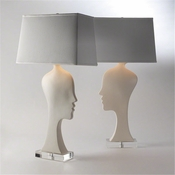 Studio-A by Global Views Silhouette Lamp