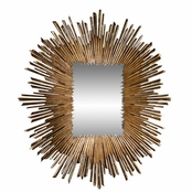 Studio-A by Global Views Soleil Mirror-Gold Leaf