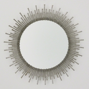 Studio-A by Global Views Spike Mirror-Antique Nickel