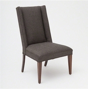 Studio-A by Global Views Straight Wing Side Chair-Alvaro Grey