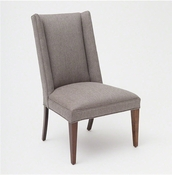 Studio-A by Global Views Straight Wing Side Chair-Margo Pewter
