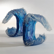 Studio-A by Global Views Tidal Wave Sculpture