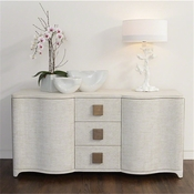 Studio-A by Global Views Toile Linen Credenza