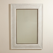 Studio-A by Global Views Toile Linen Mirror