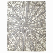 Studio-A by Global Views Vortex Rug-Ivory/Natural/Grey-8' x 10'