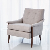 Studio-A by Global Views Watson Lounge Chair-Muslin