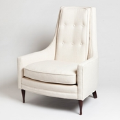 Studio-A by Global Views Wayne Chair-Customer Own Material