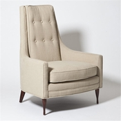 Studio-A by Global Views Wayne Chair-Taupe