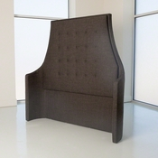 Studio A by Global Views Wayne Headboard-Alvaro Grey-Queen