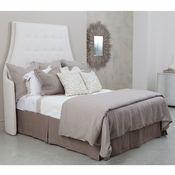Studio A by Global Views Wayne Headboard-Avada Ivory-Queen