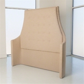 Studio-A by Global Views Wayne Headboard-Avada Taupe-Queen