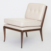 Studio-A by Global Views Wilson Chair-Beige Leather