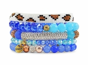 Erimish Bracelet Set Sunrise Bracelet Stack - SPECIAL OFFER