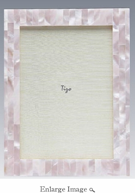 Tizo 3x3 Pink Mother Of Pearl Frame