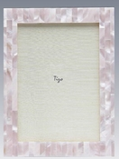 Tizo 5x7 Pink Mother of Pearl Frame