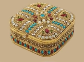 Tizo Empire Jeweled Ring/Trinket Box