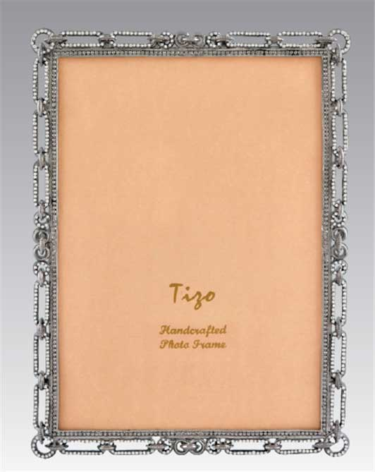 Tizo Jeweled Link 8 X 10 Picture Frame