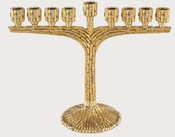 Tizo Menorah Gold