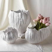 Tozai Home - Set of 3 Piriform Vases