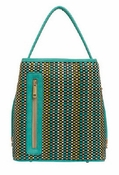 Turquoise Five Color Woven/ Turquoise Handle Classic