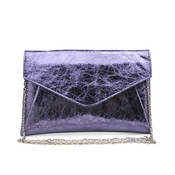 Urban Expressions Bellini Pewter Clutch  - CLOSEOUT