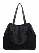 Urban Expressions Havana Tote Black  - CLOSEOUT