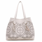 Urban Expressions Havana Tote Ivory  - CLOSEOUT