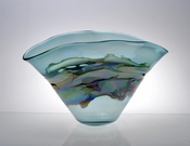 Viz Art Glass Bowl