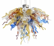 Viz Art Glass Cali Mini Chandelier