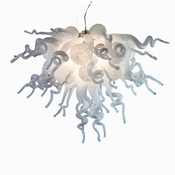 Viz Art Glass Small Angel Chandelier