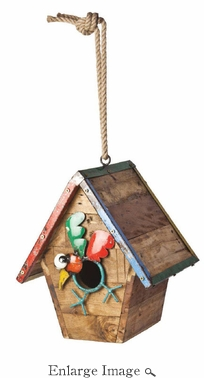 Walk the Line Bird House