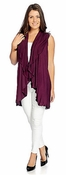 Women's Ultra-Versatile Convertible Short Shawl -Wine