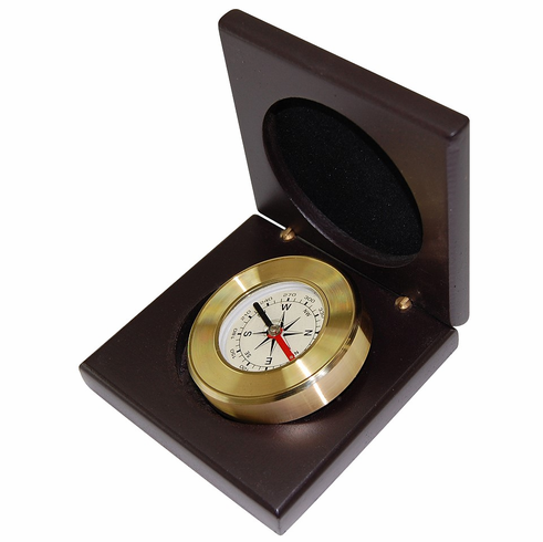 AMALFI Brass Desk Compass