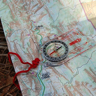 Baseplate Map Compasses