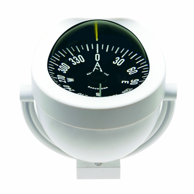 C12 Bracket Mount Compass - White 003