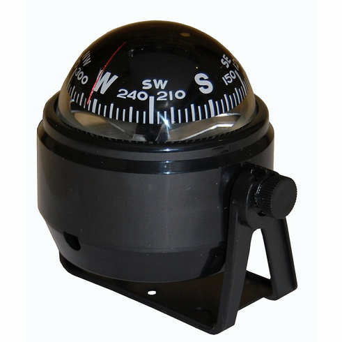 Compact Boat Compass - Black