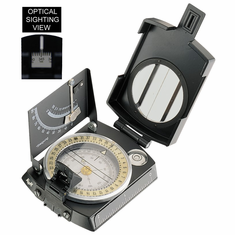 K&R Meridian PRO Professional Sighting Compass