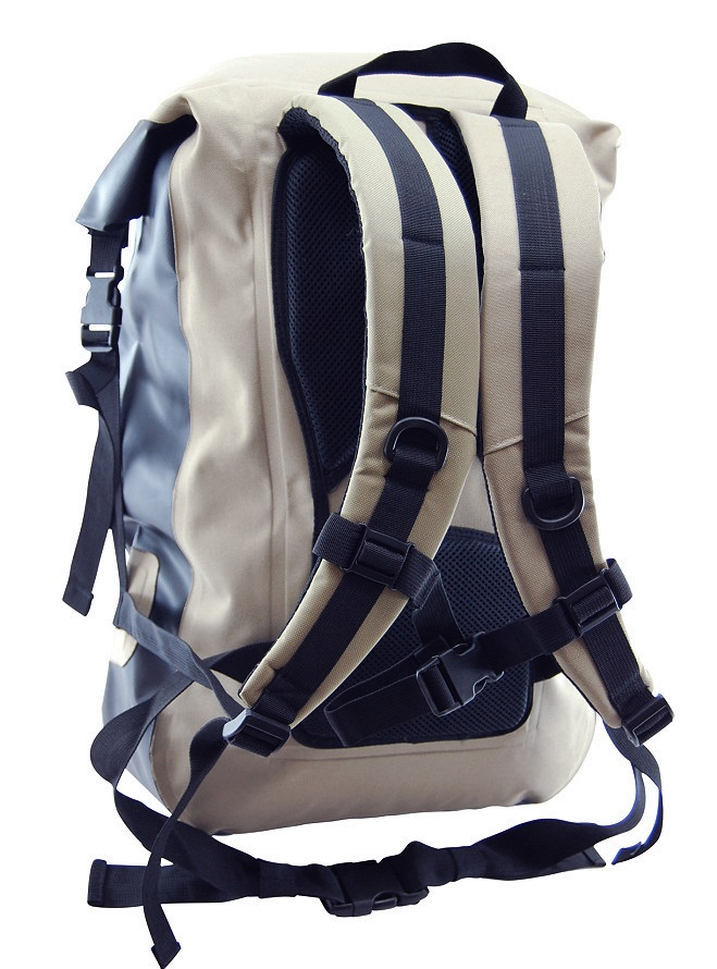 Khaki Mad Water Waterproof Classic Roll-Top Backpack 30 L