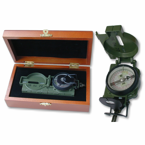 Military Compass Giftboxed