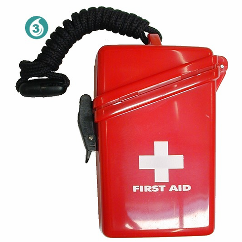 Personal Waterproof First Aid Kit